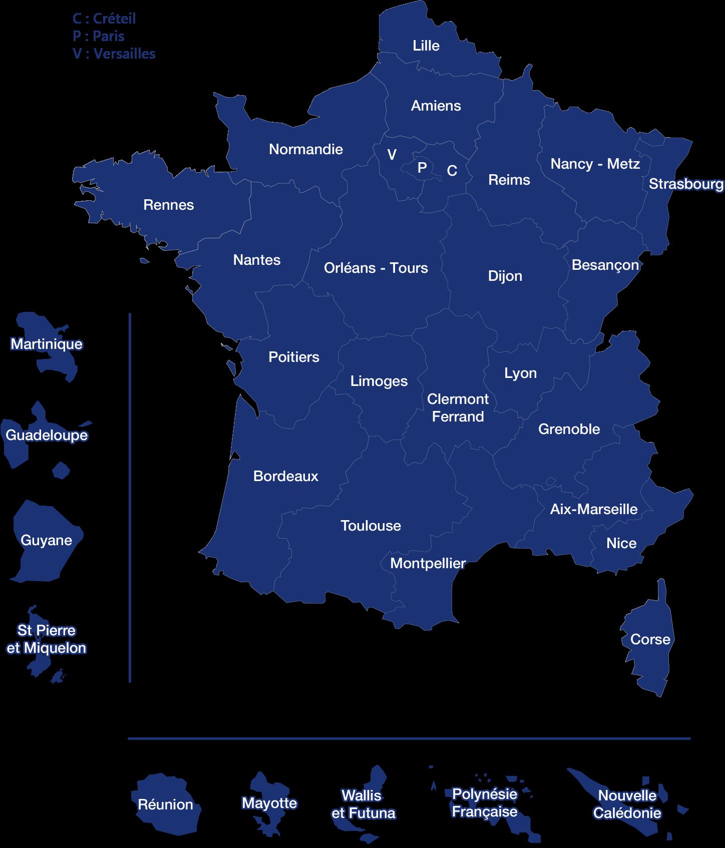 France académies